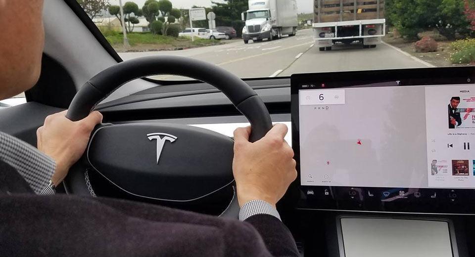 Tesla model 3 could get advanced heads up display for Interieur tesla model s