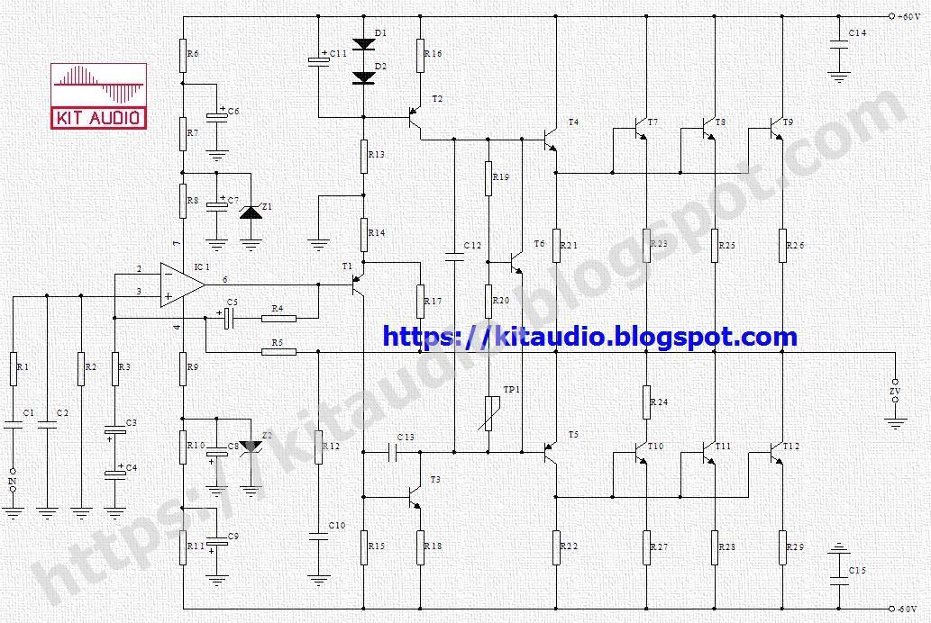 7 Watt Audio Power Amplifier Auto Electrical Wiring Diagram