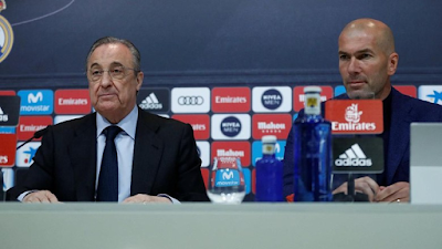 Madrid Kabarnya Sudah Hubungi Dua Pelatih Ini Untuk Menggantikan Posisi Zidane