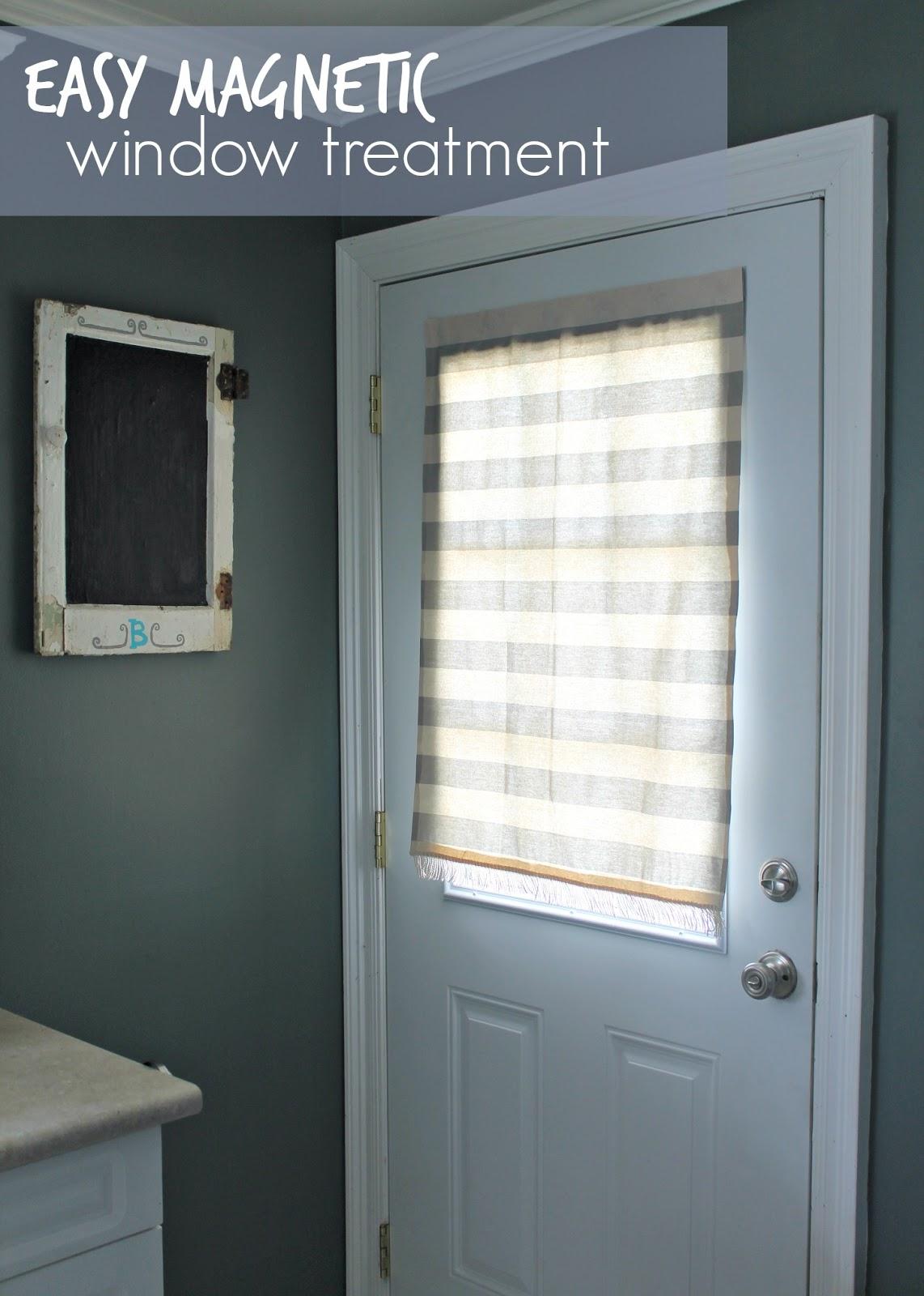 Louisiana Bride Easy Magnetic Window Treatment