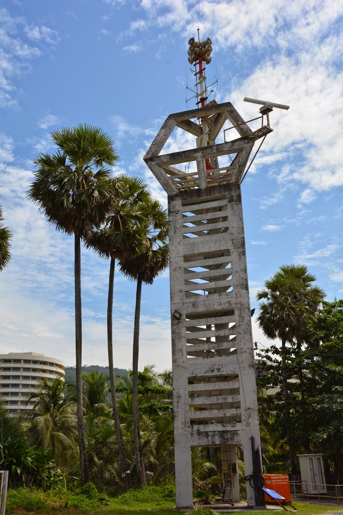 Karon Beach Phuket fire tower