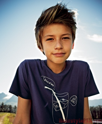 Top Ten 13 Year Old Boy Hairstyles Haircuts Pictures