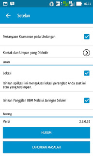BBM BACKUP STIKER Versi 2.9.0.51 Apk
