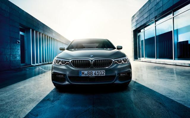 BMW Série 5 está programado para ir à venda em fevereiro 2017, apenas um mês após a sua estreia pública em Detroit.