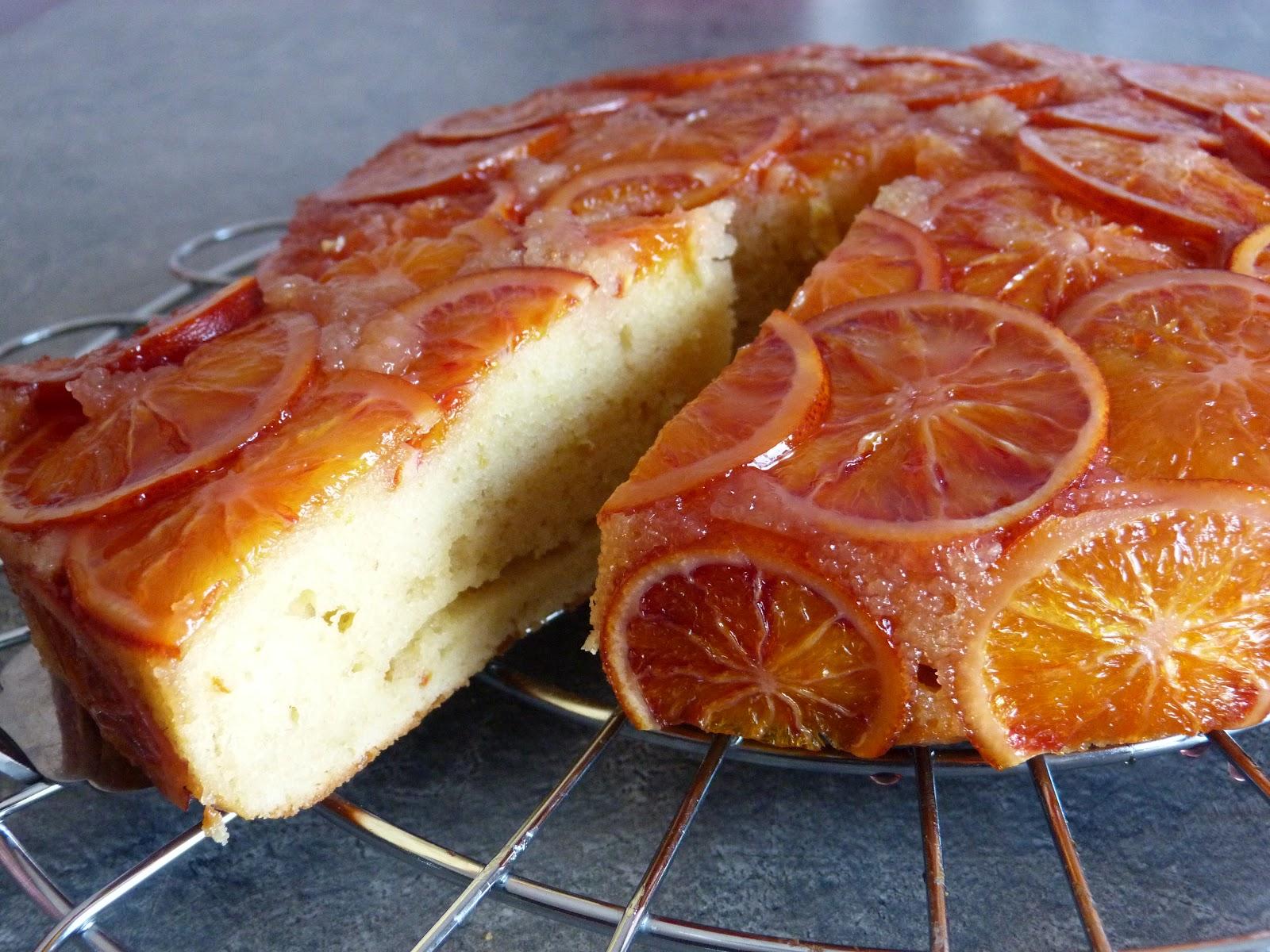 Chic Chic Chocolat Gâteau Aux Oranges Sanguines