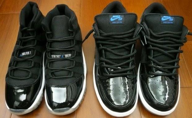 "low priced dcf54 8ae95 Feed The Kids  Nike SB Dunk Low Pro ""Space Jam""   Air Jordan 11"