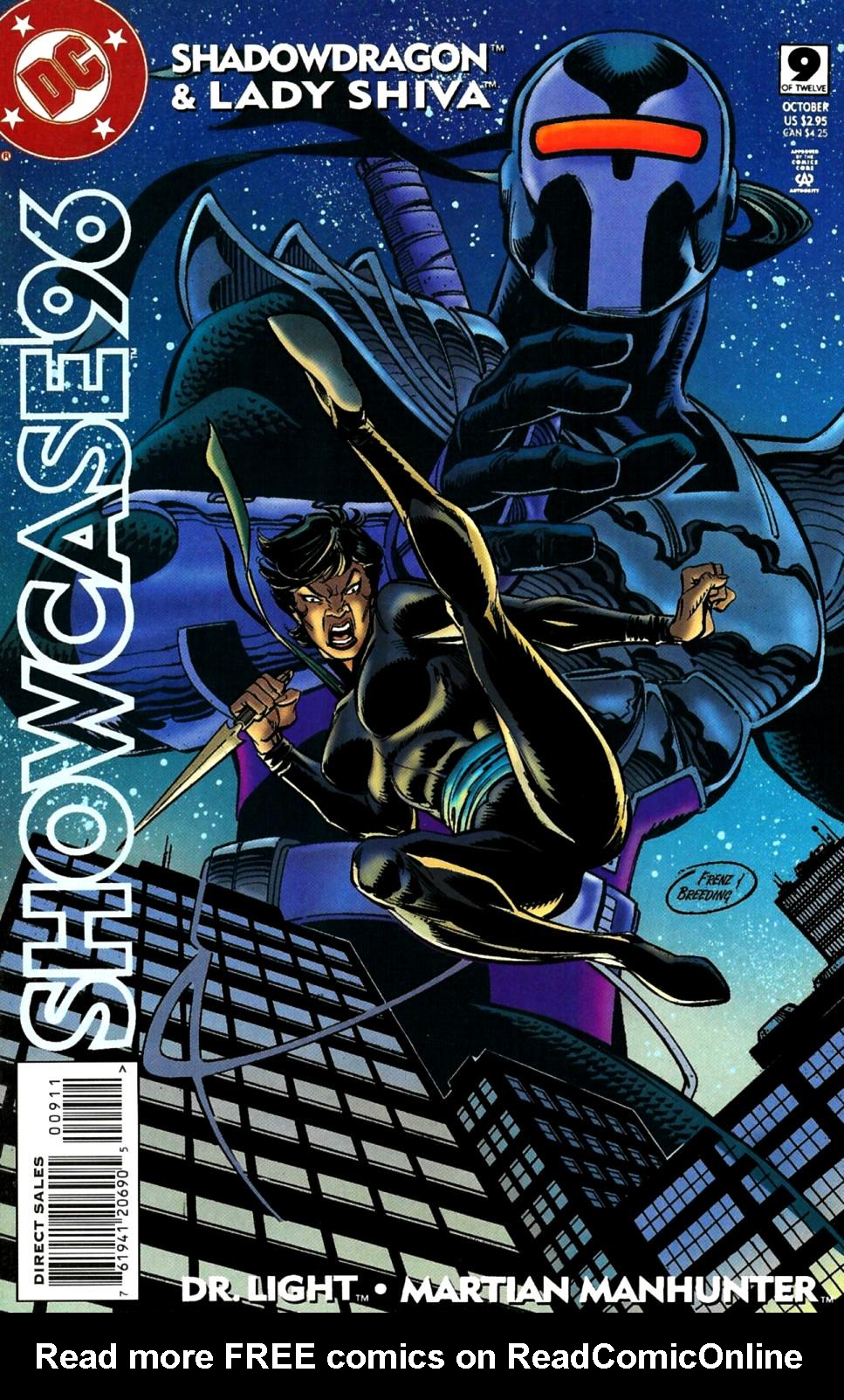 Read online Showcase '96 comic -  Issue #9 - 1