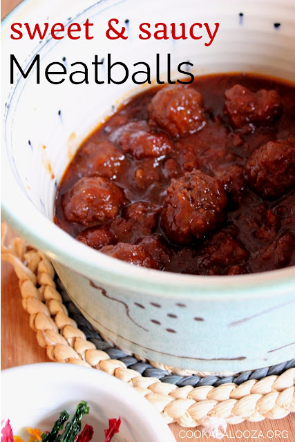 Sweet and Saucy Meatballs: Comfort dinner or mouthwatering appetizer? You decide!