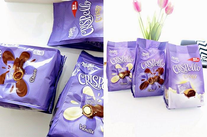 Milka-News #3 :: Milka Crispello Vanille / Choco / Crispy