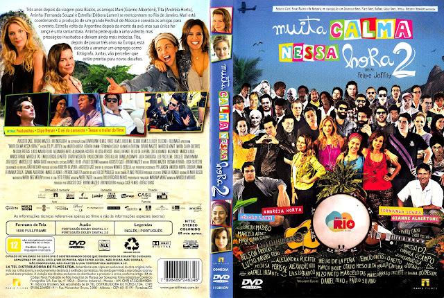 Capa DVD Muita Calma Nessa Hora 2 (Oficial)