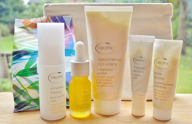 Tropic Skincare Travel Essentials Bag