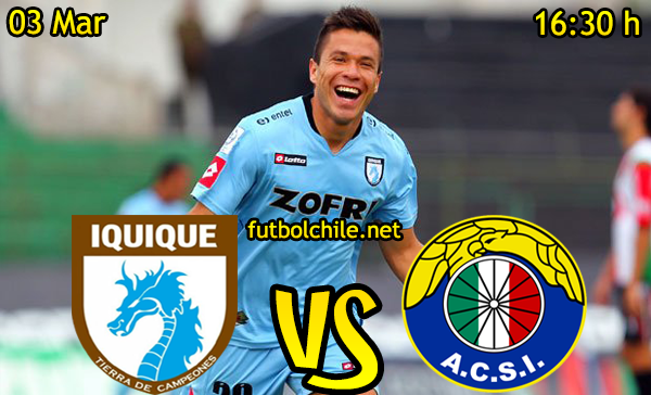Ver stream hd youtube facebook movil android ios iphone table ipad windows mac linux resultado en vivo, online: Deportes Iquique vs Audax Italiano