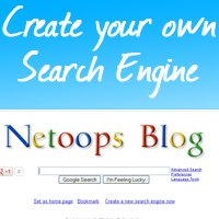 Create your own google type search engine