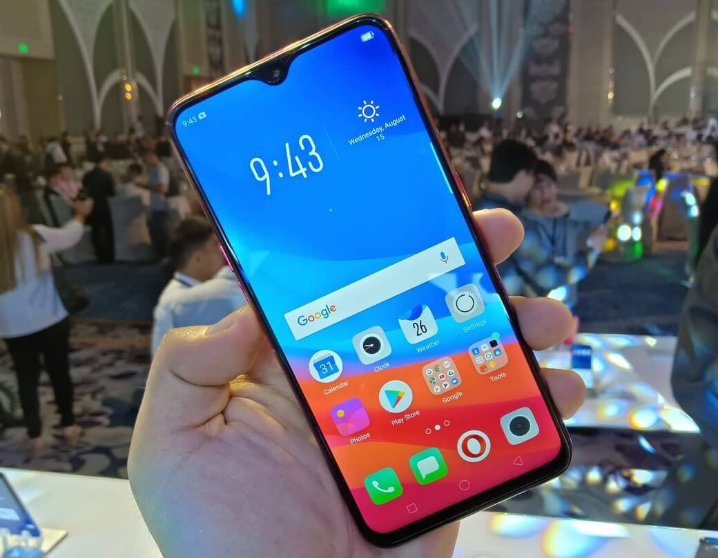 OPPO F9 Display