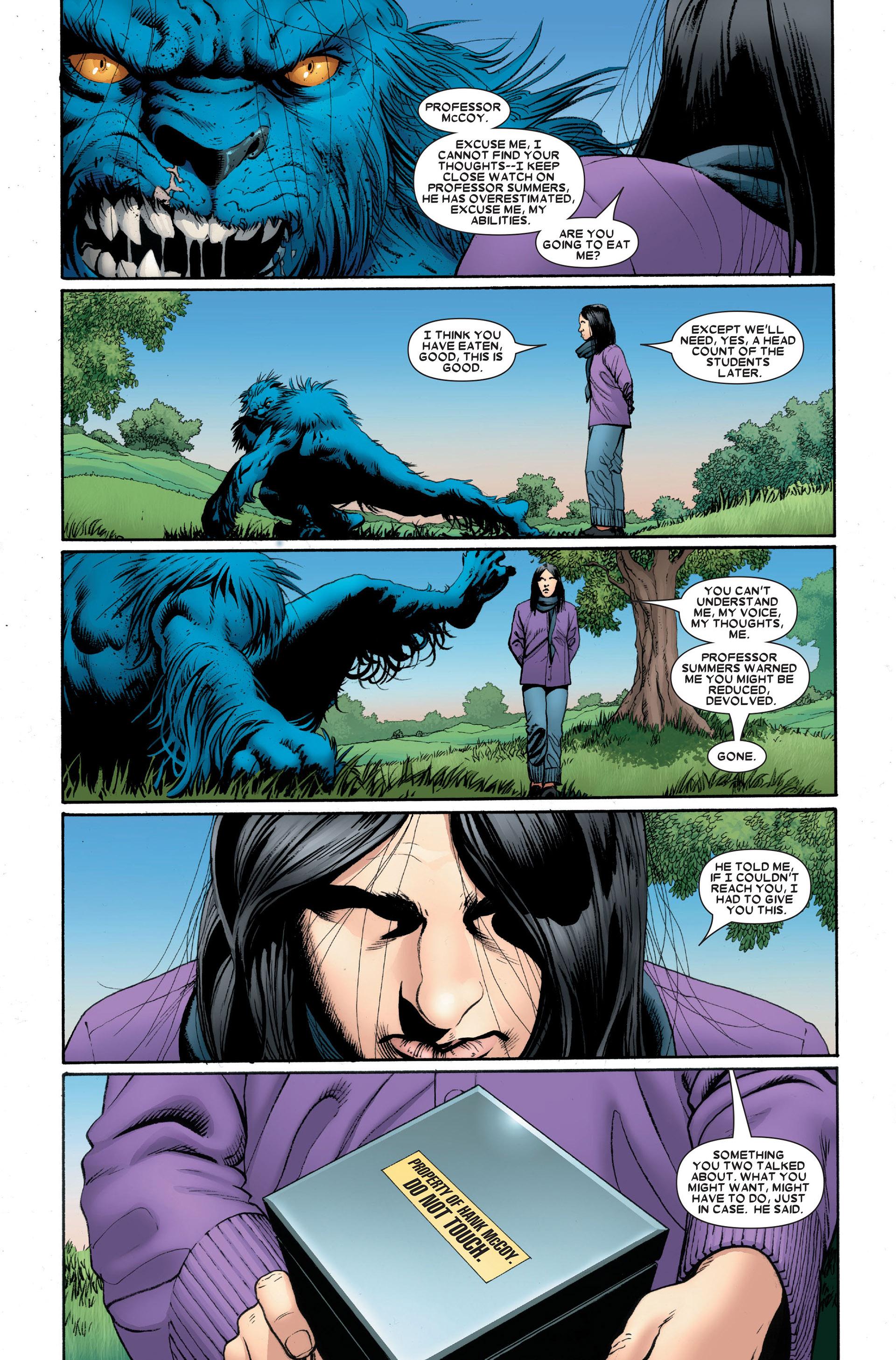 Read online Astonishing X-Men (2004) comic -  Issue #18 - 6