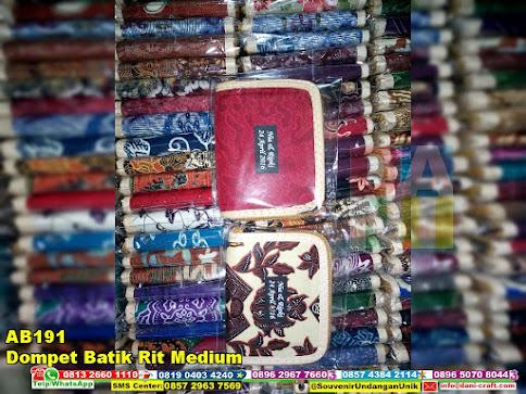 jual Dompet Batik Rit Medium
