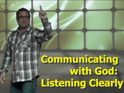 Communicating with God:  Listening Clearly