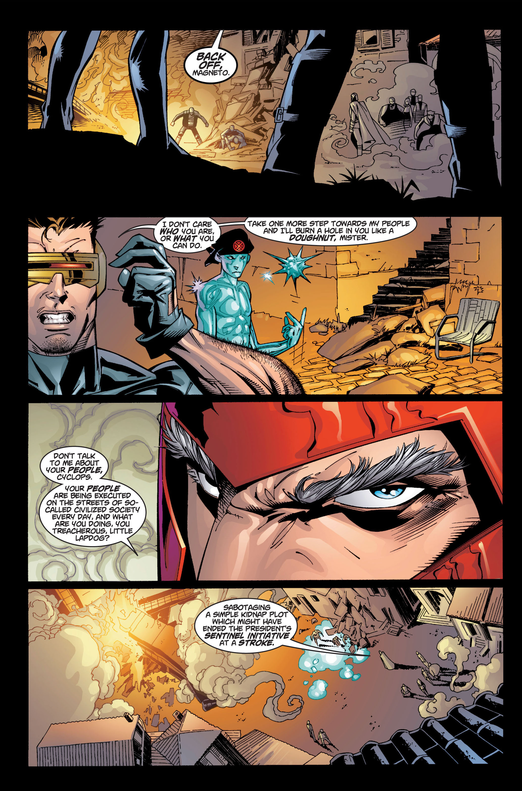 Read online Ultimate X-Men comic -  Issue #4 - 7