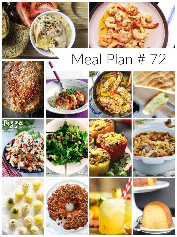 Το Μενού της Εβδομάδας και της Καθαράς Δευτέρας // Weekly Meal Plan #72 - Ioanna's Notebook