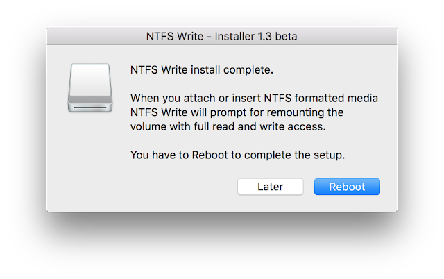 Enable write access to NTFS drive using free software