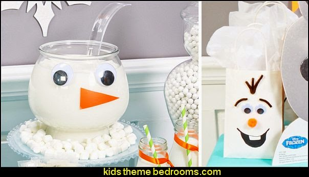 Disney's Frozen Olaf Party Supplies-decorating ideas frozen themed party