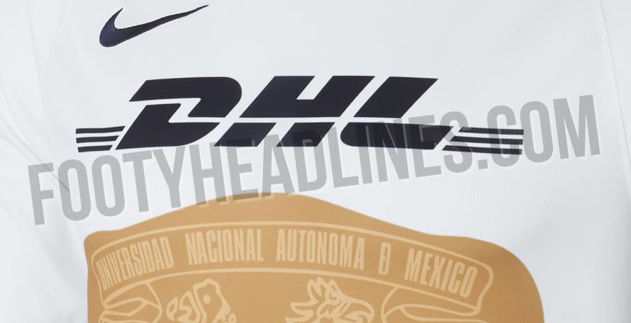 9a7dcdee280 We can today give you a first exclusive look at the new Pumas UNAM 18-19  home kit
