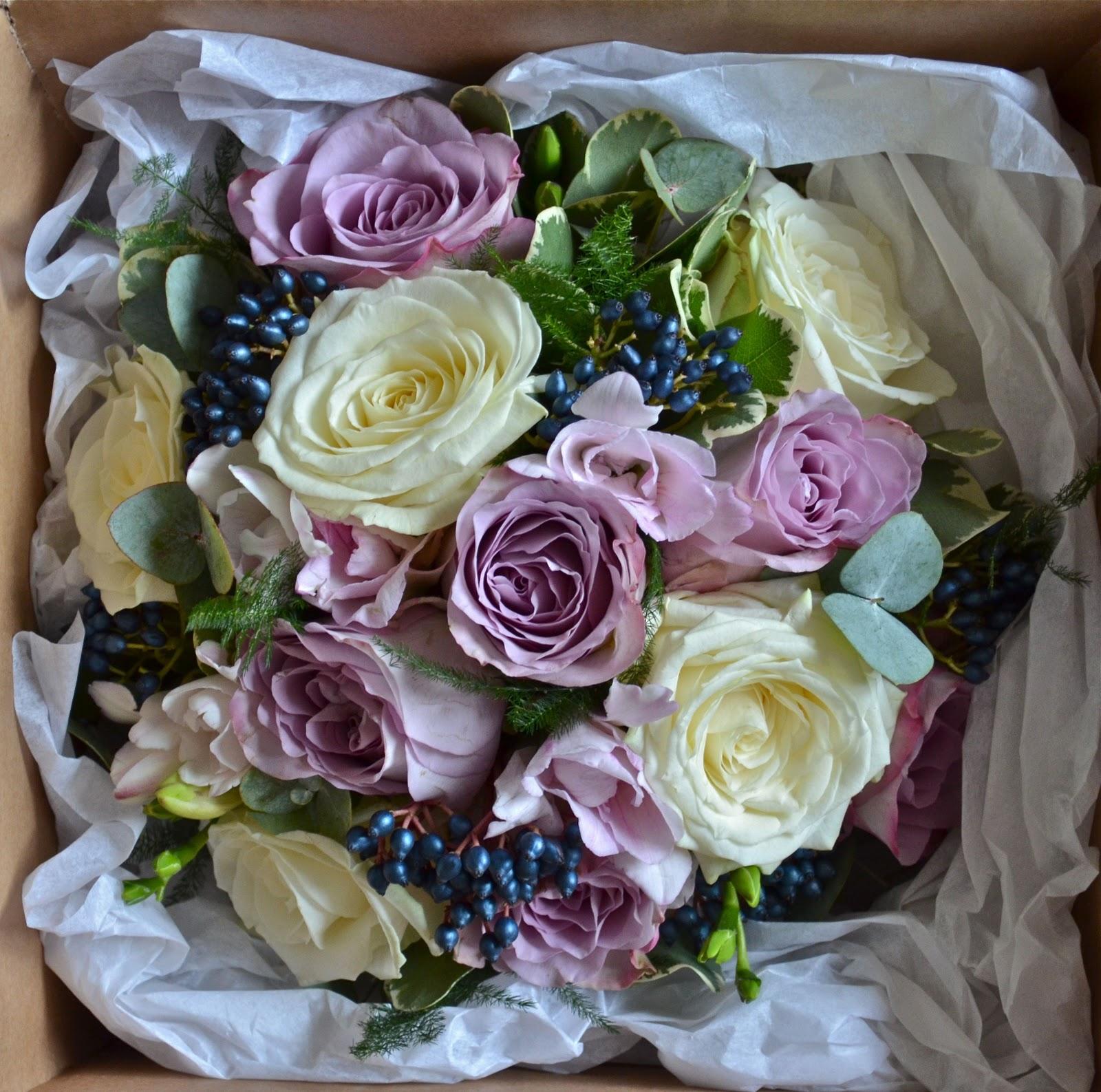 Wedding Flowers Blog: Janice's Winter Wedding Flowers, New
