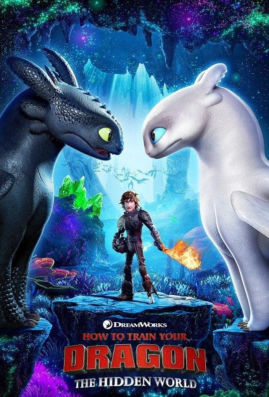 How to Train Your Dragon 3  (2019) Hindi Audio 720