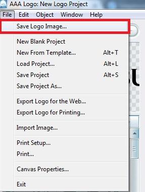 Save Logo Image