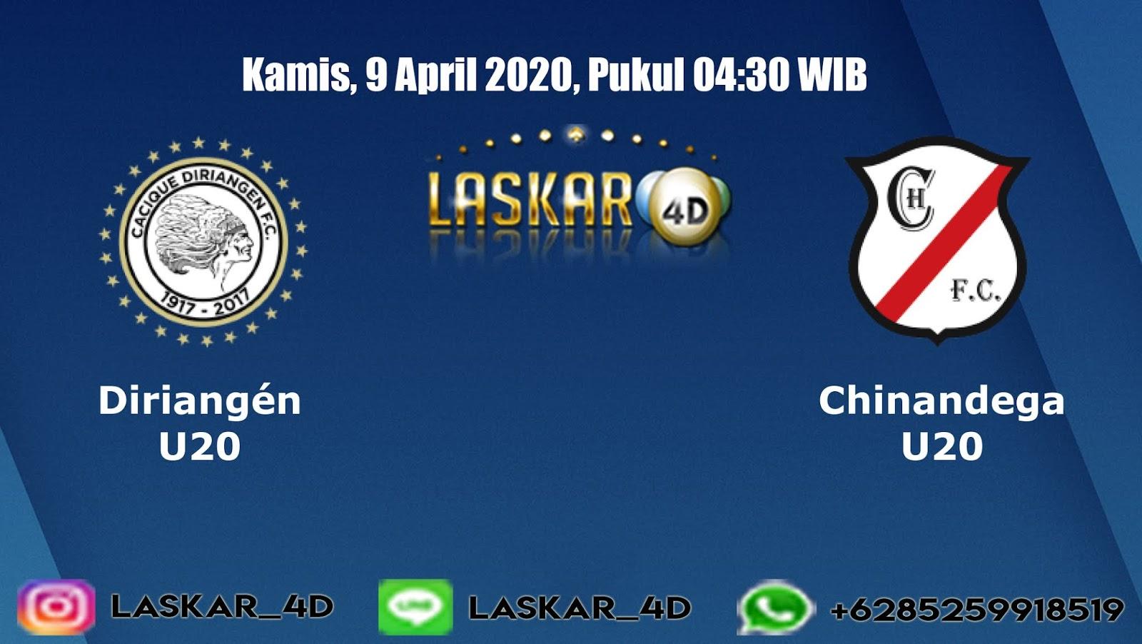 Prediksi Bola Diriangen U20 vs Chinandega U20 Kamis 09 April 2020