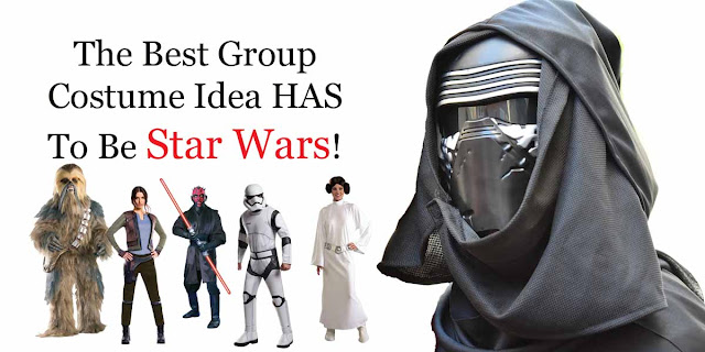 The best group costume idea has to be Star Wars!