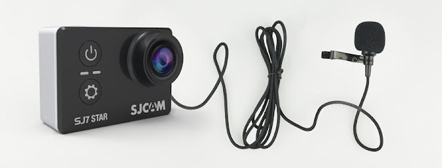 SJCAM SJ7 4K Camera Mic