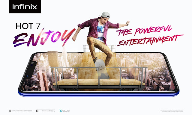 Infinix Launches HOT 7 - Enabling Consumers to Enjoy the Powerful Entertainment Experience