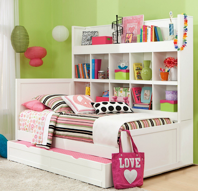 Modern Kids Bookcase Platform Beds With Storage - Full storage bed with bookcase headboard maybe the best full size platform bed with storage and bookcase headboard a modern childrens platform bed.