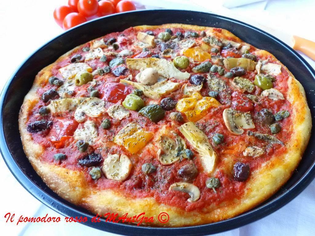 il pomodoro rosso di mantgra pizza alle quattro stagioni con il metodo di gabriele bonci. Black Bedroom Furniture Sets. Home Design Ideas