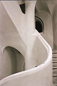 Photo of the Staircase at Rudolf Steiner House, London
