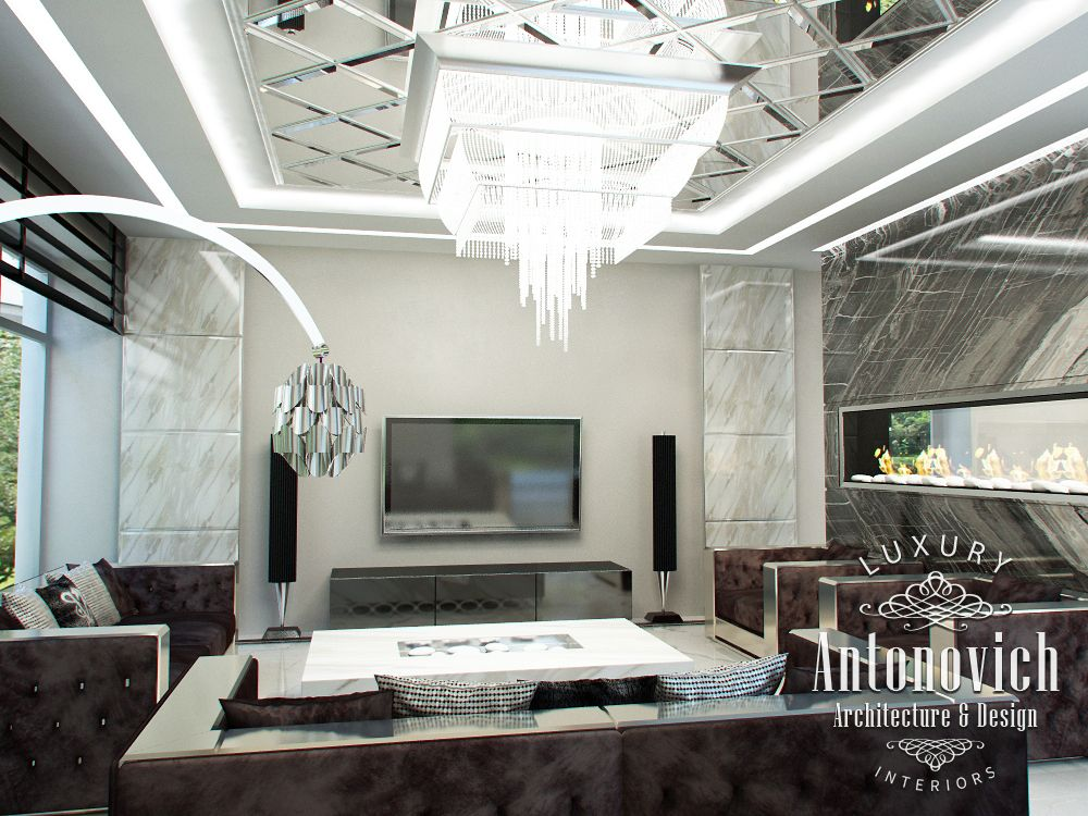 Luxury antonovich design uae contemporary villa interior - What is contemporary design ...