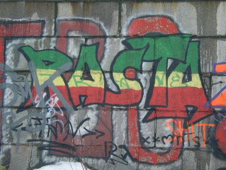 Urban Rasta Graffiti Mural Wall Art || Graffiti Tutorial