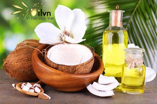 cách dưỡng tóc chắc khỏe bằng dầu dừa