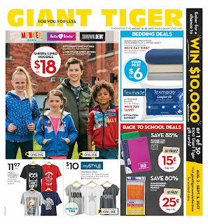 Giant Tiger Flyer August 16 – 22, 2017