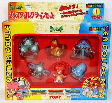 Tentacool Pokemon figure Tomy Monster Collection Set-I
