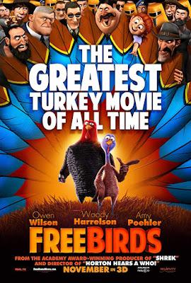 Free Birds (2013) Dual Audio Hindi 400MB BluRay 480p