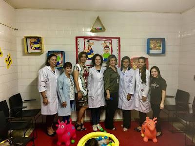 Hospital Belarmino Correia inaugura Centro de reabilitação para portadoras de microcefalia.