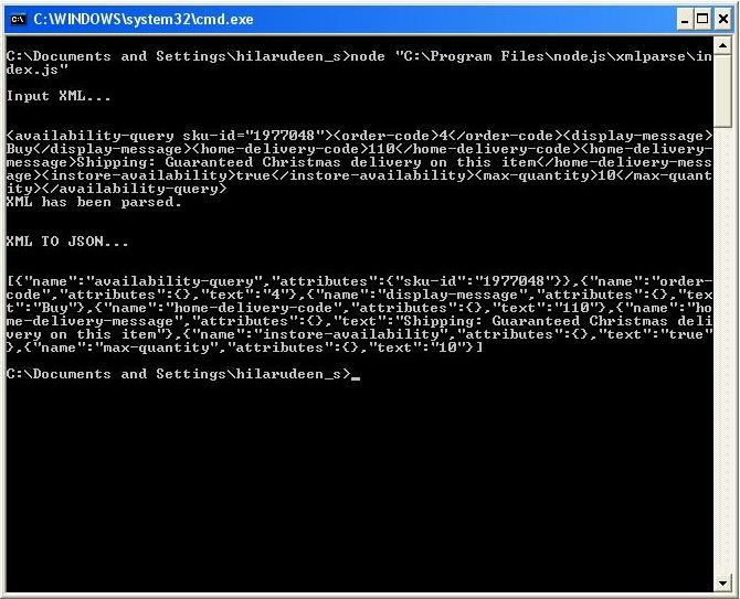 PointerStack: NodeJs: Convert xml to JSON using Sax Module