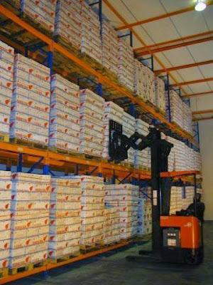 Kệ kho chứa hàng tải trọng nặng