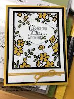Stampin' Up Petal Palette, Petal Passion Designer Series Paper,