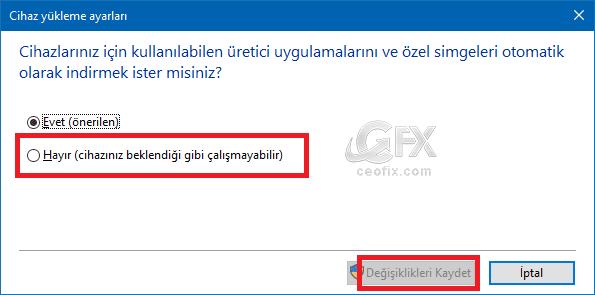 Değişiklikleri Kaydet-www.ceofix.com