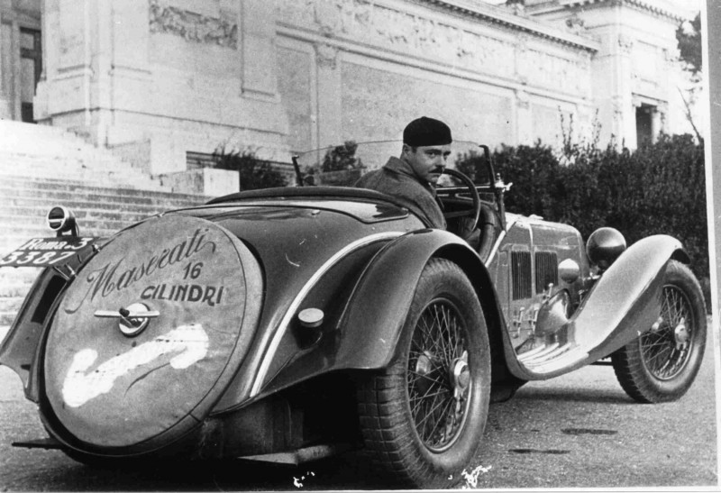 Just A Car Guy: 1931 Maserati, a pre-war record-breaker once owned by the Popes physician, who ...