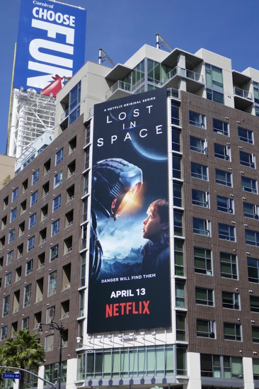 Lost in Space season 1 billboard