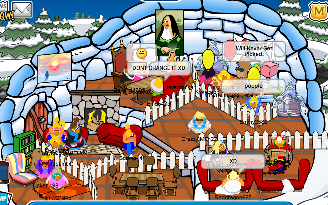 Club Penguin Iggy's: Club Penguin Featured Igloos Week 1